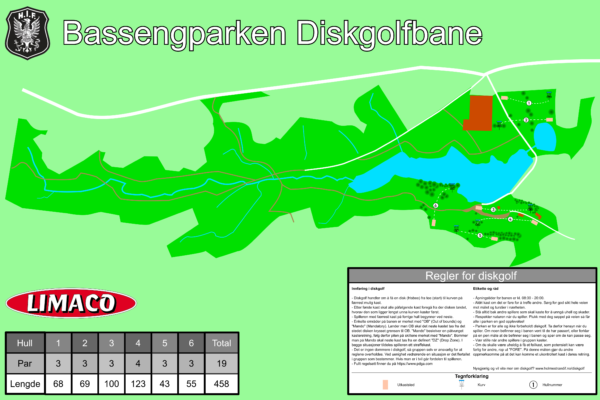 Bassengparken DG Map Horisontal