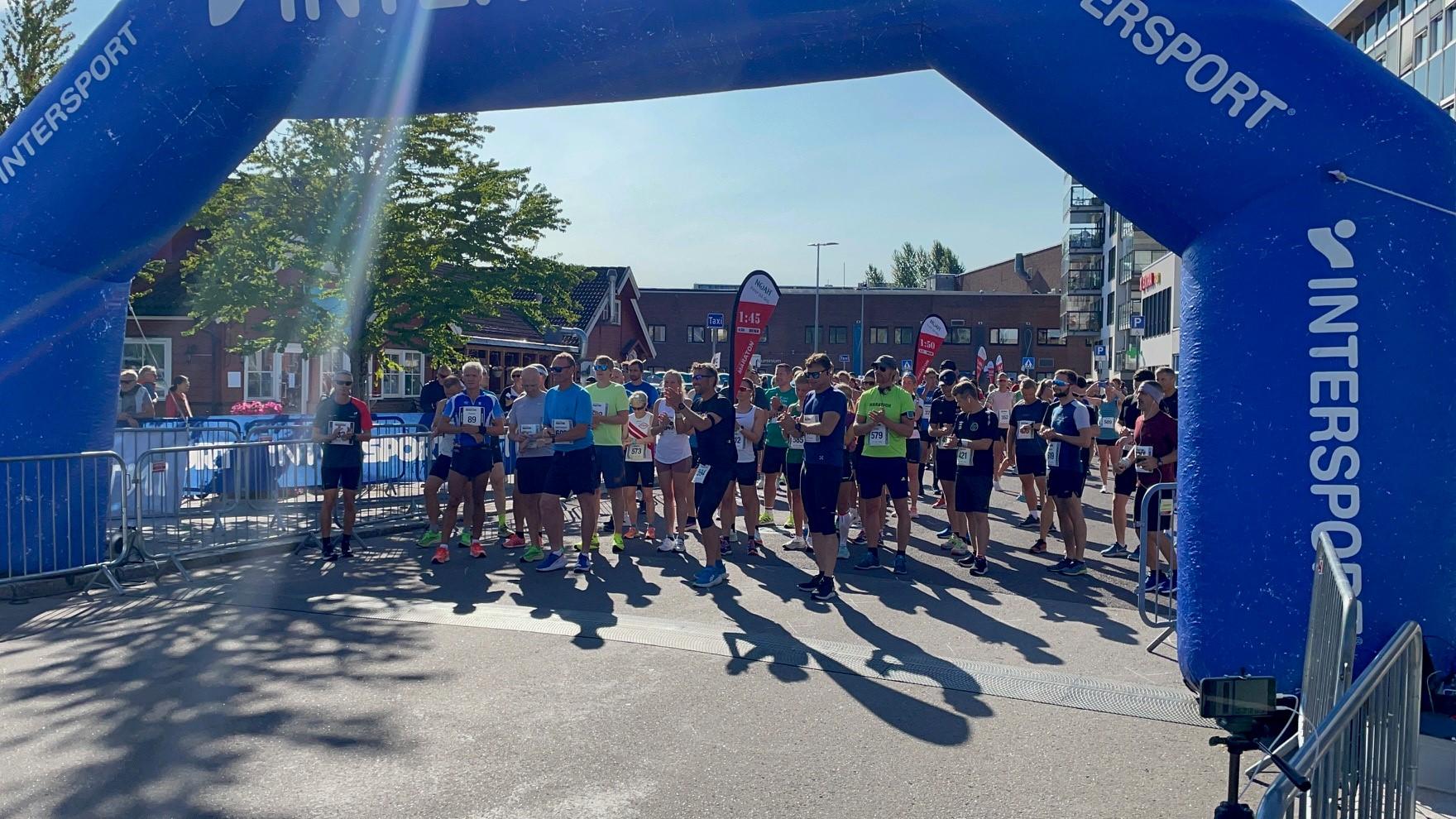 Årets «Holmestrand Maraton» ble en stor suksess